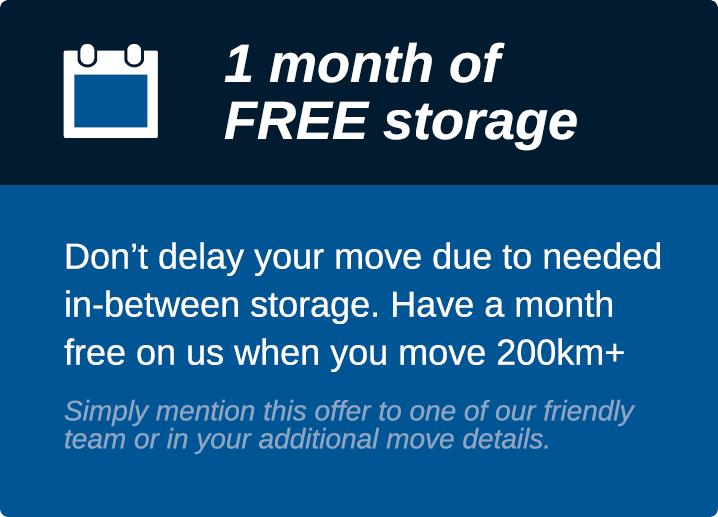 1 month of free storage